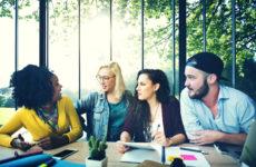 Pratar om (grön) förändring på kontoret